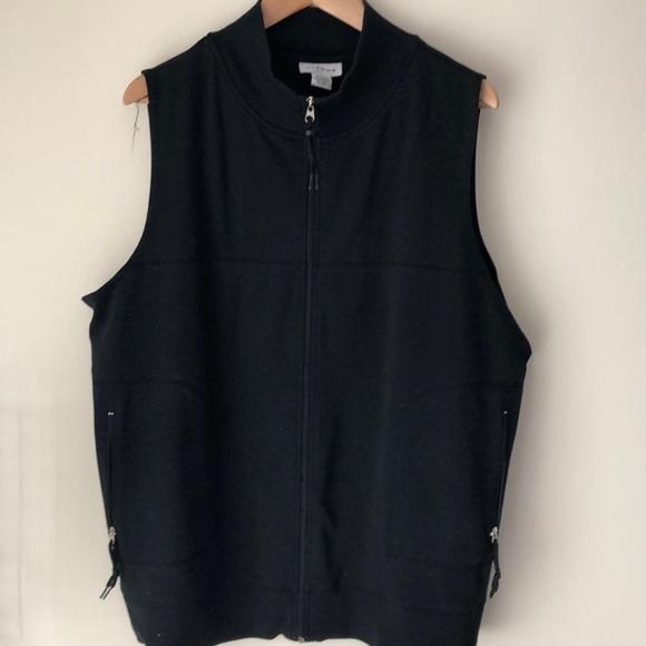 Avenue Tops - Women's zip up vest